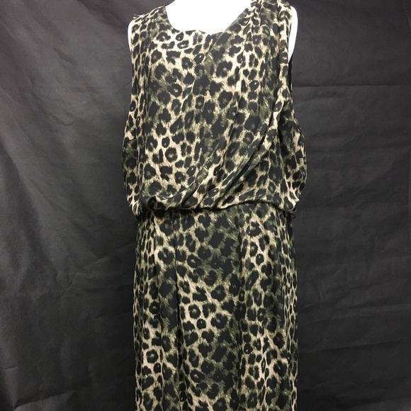Apt. 9 Dresses & Skirts - Dress Leopard Skin Design Lined size 18 Plus..